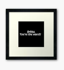 Quote Framed Print