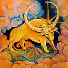 Jupiter as Brihaspati, Teacher of the Gods (my astrological series) by Natalia Lvova