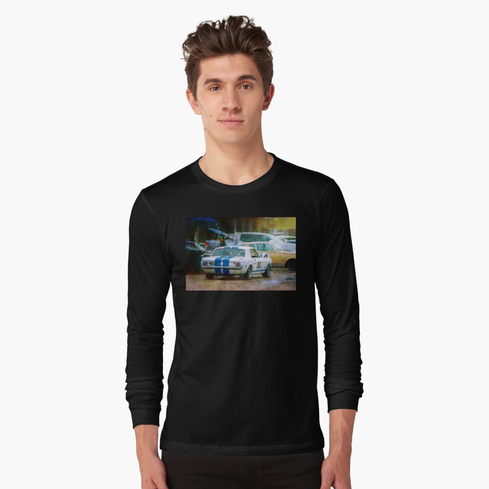 Mustang in the Paddock Long Sleeve T-Shirt