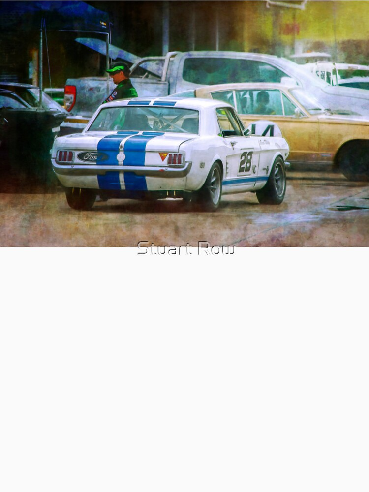 Mustang in the Paddock by StuartRow