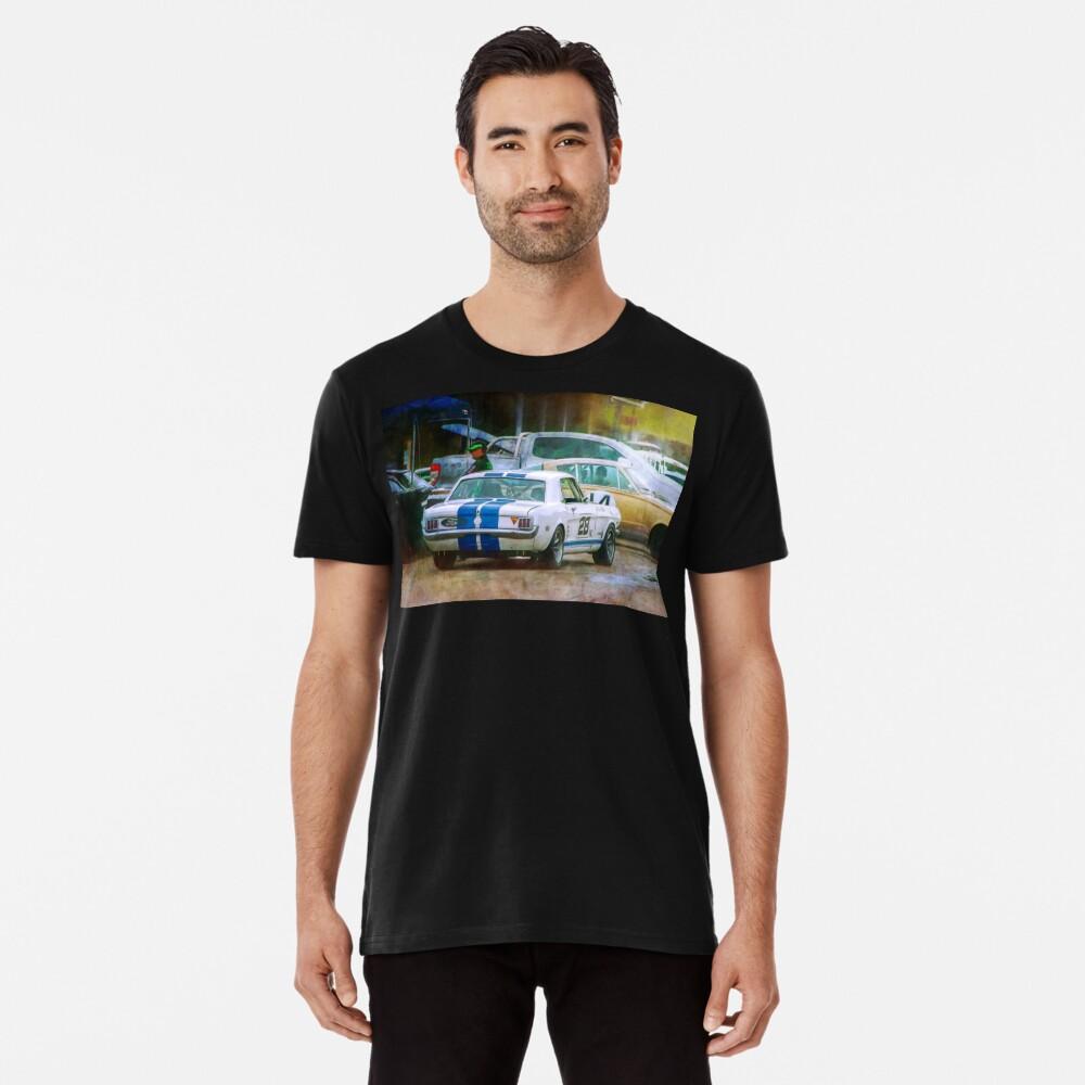 Mustang in the Paddock Premium T-Shirt