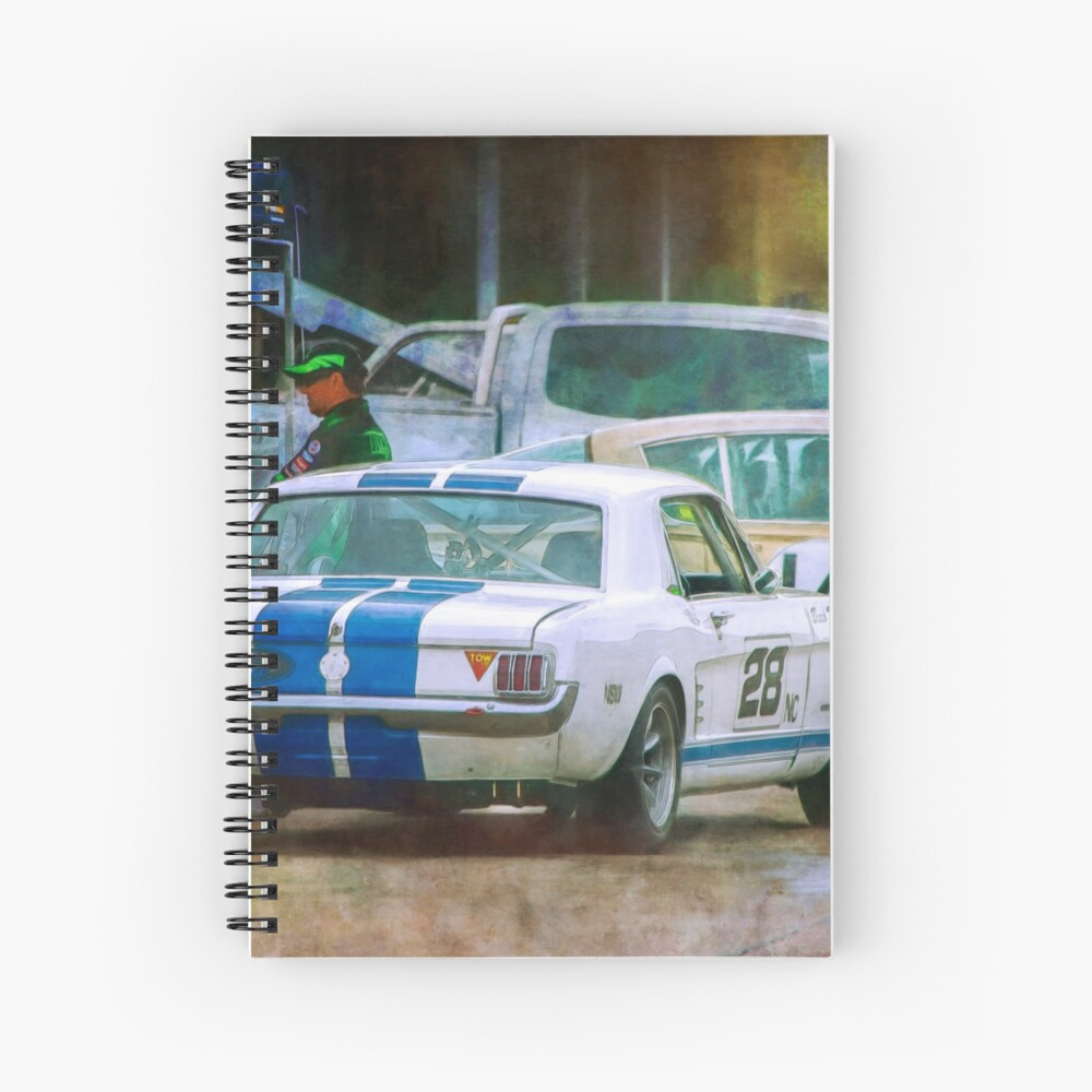 Mustang in the Paddock Spiral Notebook