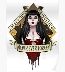Never, Ever Forget Poster