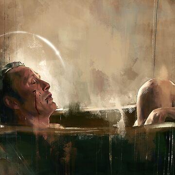 Nella vasca by Wisesnail