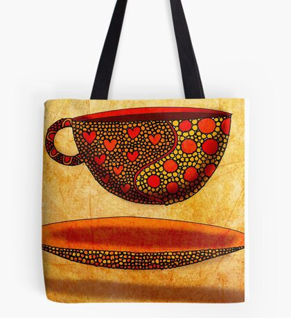 What my Coffee says to me -  July 22, 2012 Tote Bag