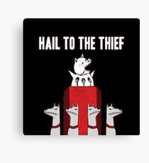 Hail to the Thief Canvas Print