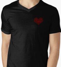 I Love Nana Heart Men's V-Neck T-Shirt
