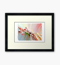 Abstract pastel composition Framed Print