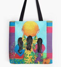 Our Sisters - Corn, Beans & Squash Tote Bag