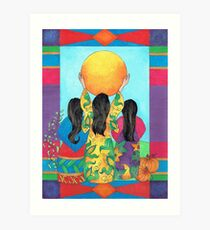 Our Sisters - Corn, Beans & Squash Art Print