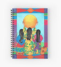 Our Sisters - Corn, Beans & Squash Spiral Notebook