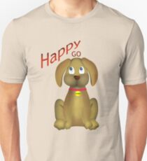 Happy Go Lucky Unisex T-Shirt