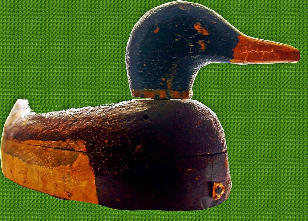 Antique duck decoy by Karl Rose