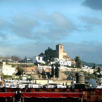 Skyline Granada by littlefrog7