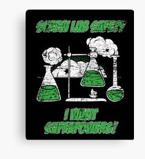 Natural science chemistry laboratory Canvas Print