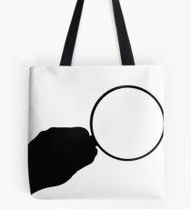 Magnifier Icon Tote Bag