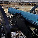 Confederate Gun Position Gettysburg by Bob Moore