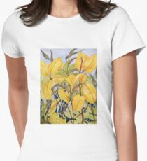 Stems Womens Fitted T-Shirt