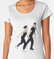 Tessa und Scott Premium Rundhals-Shirt