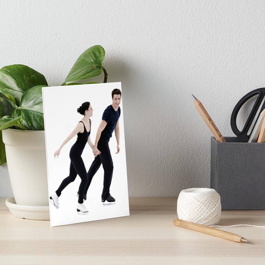 Tessa und Scott Galeriedruck
