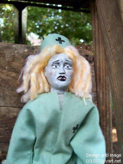 Nurse Doll by uglyshyla