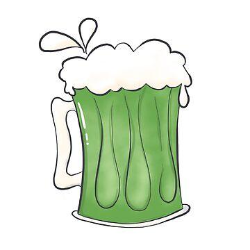 Saint Patties Day Beer by vanderdys