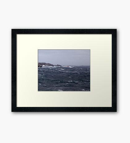 October Storm Framed Print