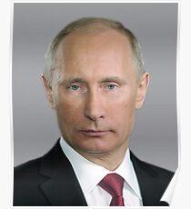Póster Vladimir Putin Rusia