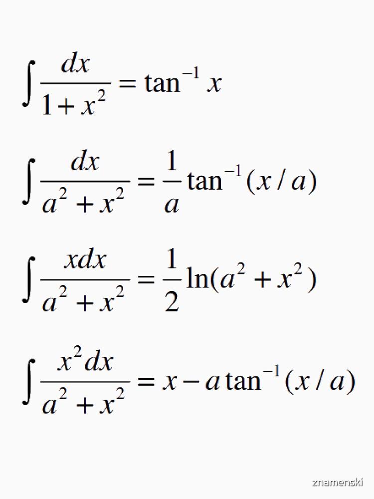 #Integrals #Math #Calculus #Mathematics Integral Function Equation Formula by znamenski