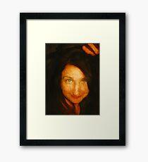 Kylie/ old master  Framed Print