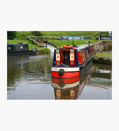 Narrowboats Photographic Print