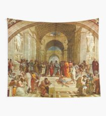 The School Of Athens Painting  Wall Tapestry