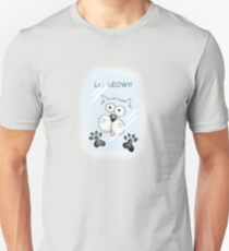 "Cat behind window ""Let MEOWt"" T-Shirt"