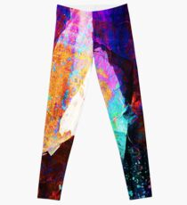 ABSTRACT NATURE // NEW ZEALAND Leggings