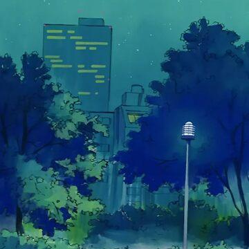 Sailor Moon Hintergrund Park von Freshfroot