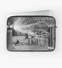 Nikola Tesla Electricity  Laptop Sleeve