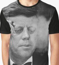 John F Kennedy Smoking  Graphic T-Shirt