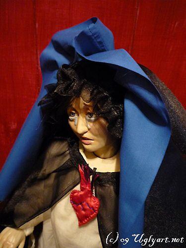 Mother Of Sorrows Doll Sneak Peek. by uglyshyla