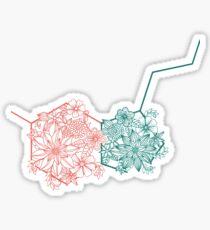 In Pursuit of Serotonin Sticker