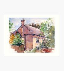 Old Rectory, Edgmond, Shropshire Art Print