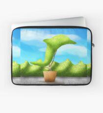 Topiary Dolphin  Laptop Sleeve