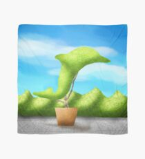 Topiary Dolphin  Scarf