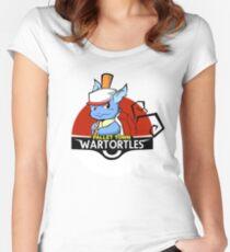 Pallet Town Wartortles Women's Fitted Scoop T-Shirt