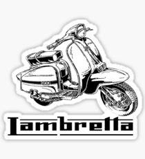 Lambretta GP200  Sticker