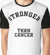 Stronger than Cancer Graphic T-Shirt