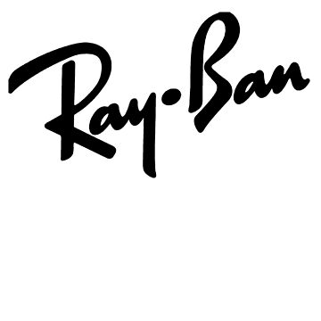Ray Bans Logo (Graphic Tee) by MattsStuff