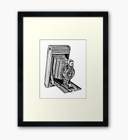 Kodak Hawkeye Vintage Camera #2 Framed Print