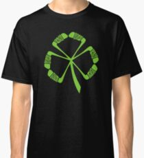 Funny St Patrick's Hockey T Shirts Gifts-Sticks in Shamrock Shape for Women Men Classic T-Shirt