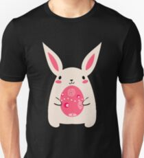 Cute easter puns gifts merchandise redbubble cutest bunny adorable easter bunny rabbit holding easter egg unisex t shirt negle Image collections