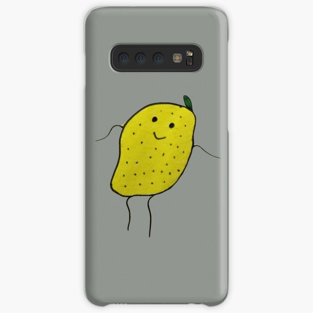 Zitronen Junge Hülle & Klebefolie für Samsung Galaxy